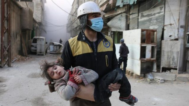 More than 400 Syrian White Helmets Evacuated from Syria to Jordan Overnight