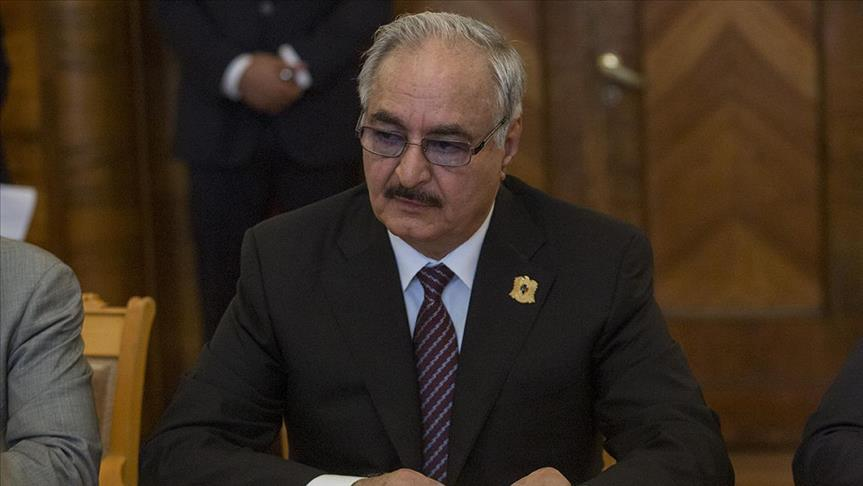military commander Khalifa Haftar