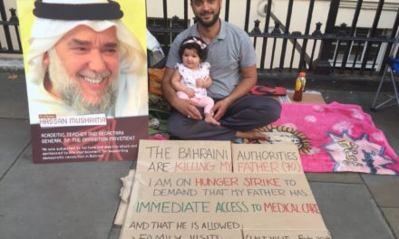Bahraini Activist Goes on Hunger Strike to Demand Father's 'Basic Rights'
