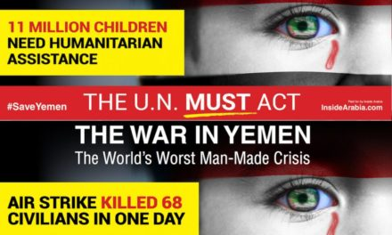 Editorial: Inside Arabia Launches Unprecedented #SaveYemen Campaign Aimed at UN General Assembly