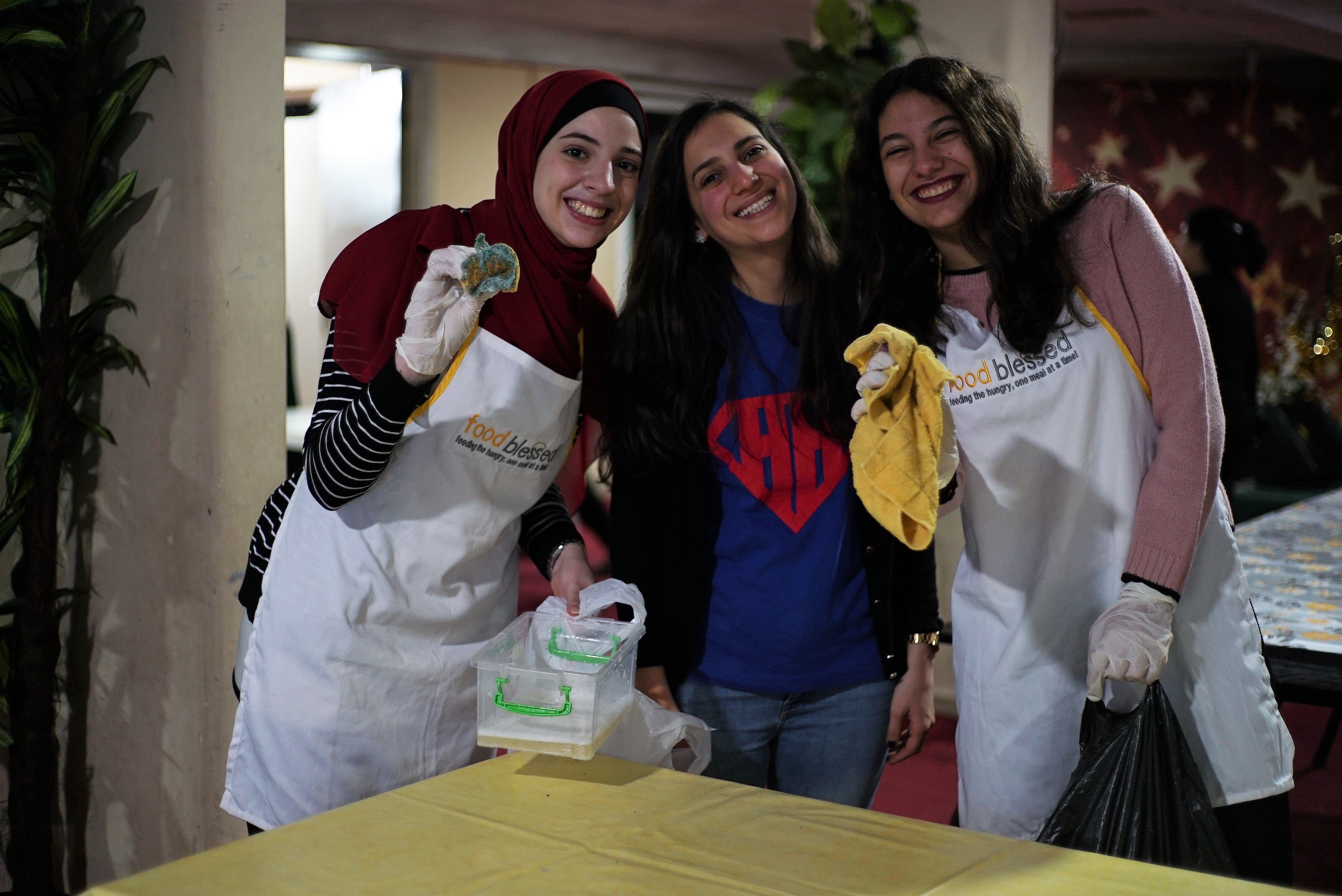 Maya Terro Fights Hunger in Lebanon