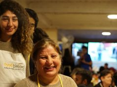Maya Terro young activist, Fights Hunger in Lebanon.