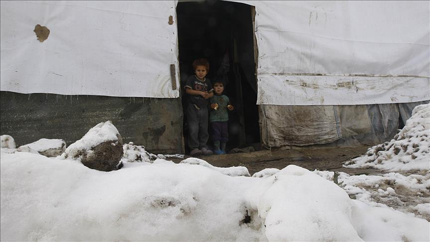 Severe Winter Weather in Syria and Lebanon Imperils Refugees