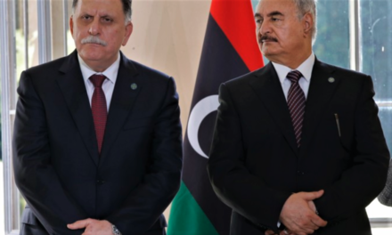 LIBYA'S CIVIL WAR PLAYS OUT IN WASHINGTON'S LOBBYIST UNDERWORLD