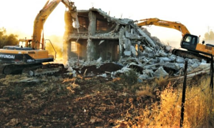 Israel Still Destroying Palestinian Homes