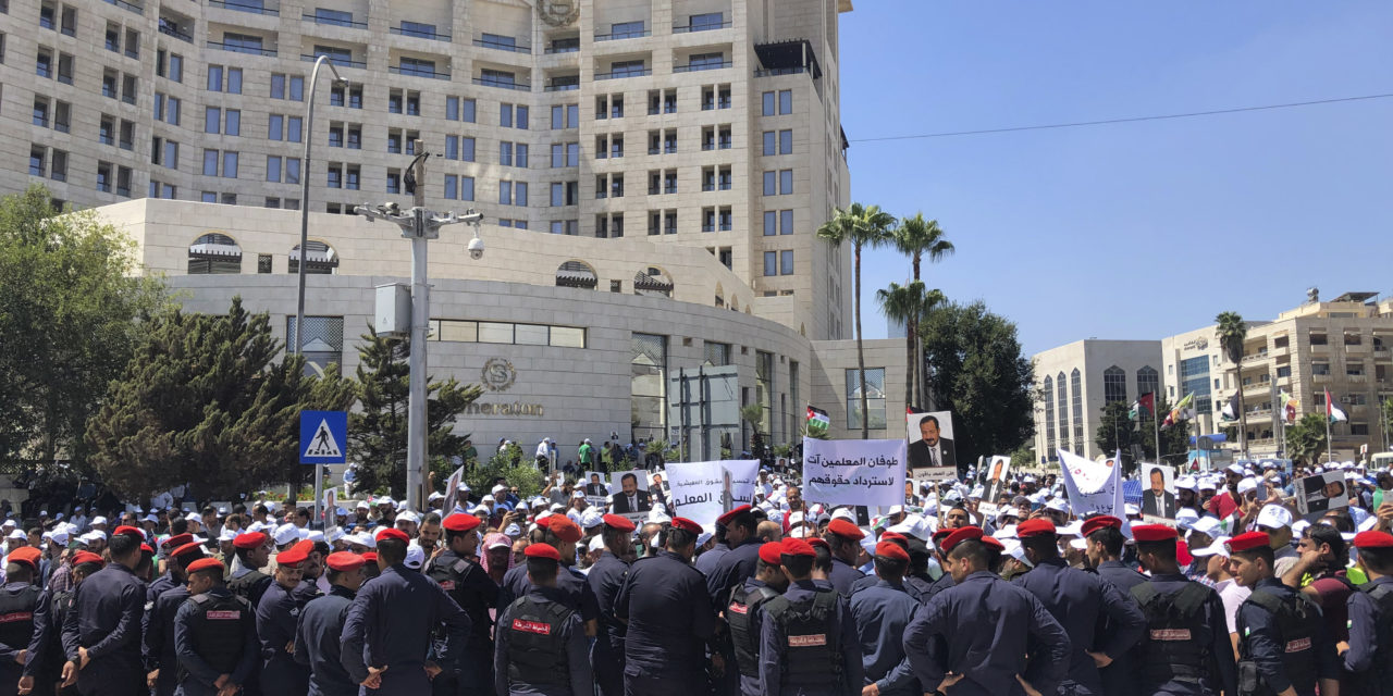 Jordan's Teachers Strike for Fair Pay