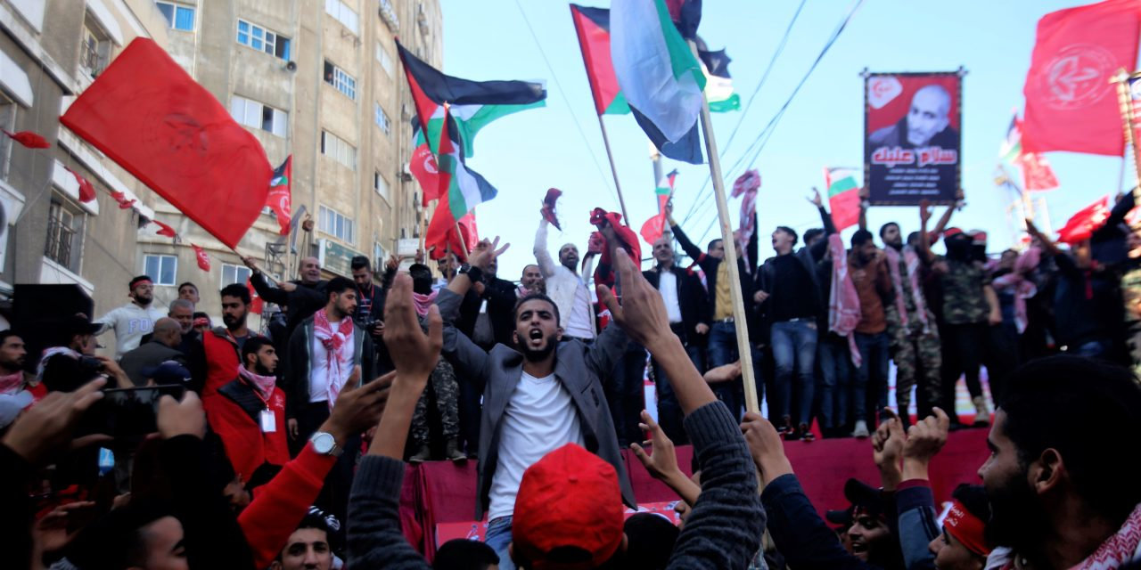 The Arab Spring and the Palestinian 'Exception'