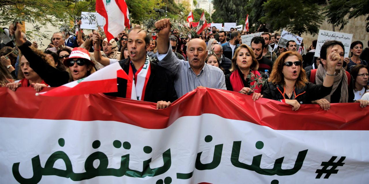 The Three Uprisings: Parallels in Iran, Iraq, and Lebanon's Protests