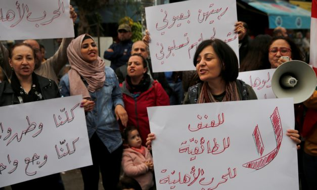Women Protesters in Lebanon Seek More than New Laws