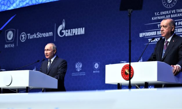 New Natural Gas Pipeline Deepens Turkish-Russian Relations