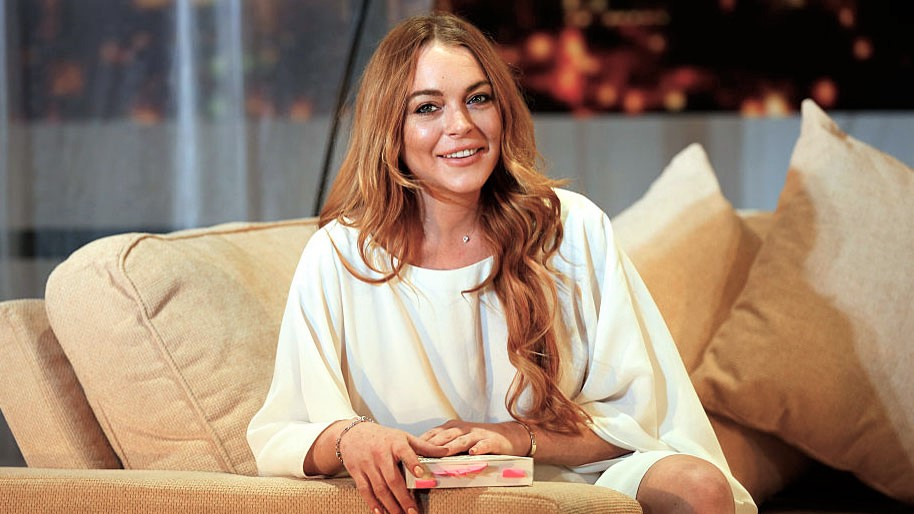 What's up with Lindsay Lohan and the Middle East?