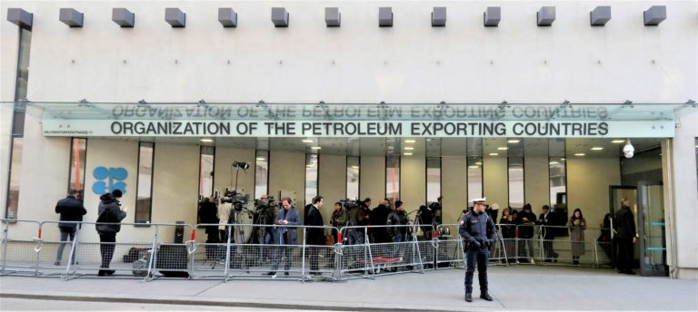 The headquarters of the Organization of the Petroleum Exporting Countries OPEC in Vienna Austria Thursday March 5 2020. AP Photo Ronald Zak