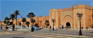 Bab el Had one of the gates to the old medina of Rabat