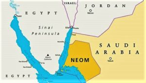 NEOM on the map