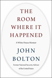 Book Cover The Room WHere It Happened by John Bolton