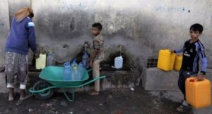 Half of Yemen population do not have access to clean water