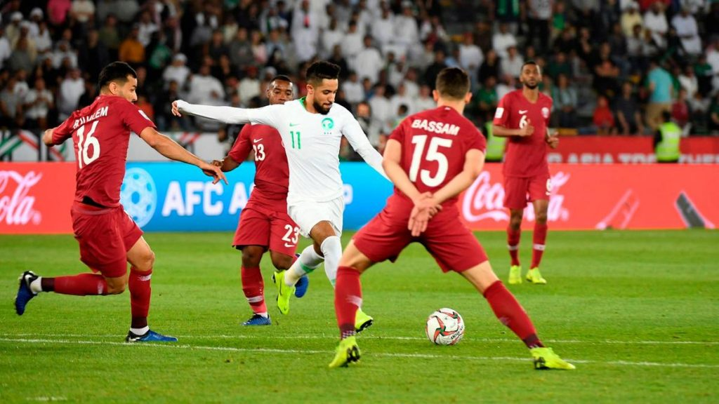 Saudi Arabia Qatar football