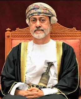 Sultan Haitham bin Tarik Al Said who succeeded the late Sultan Qaboos bin Said in January 2020