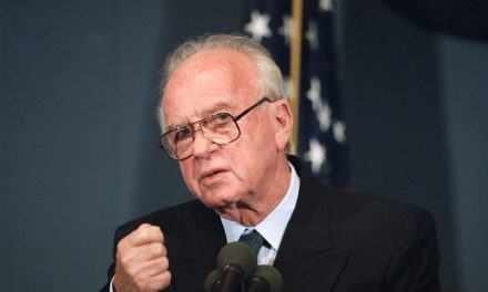 AOC was Right to Pull Out of Peace Now's Yitzhak Rabin Memorial
